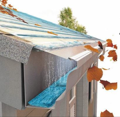 Green Home Construction - Seemless Gutters